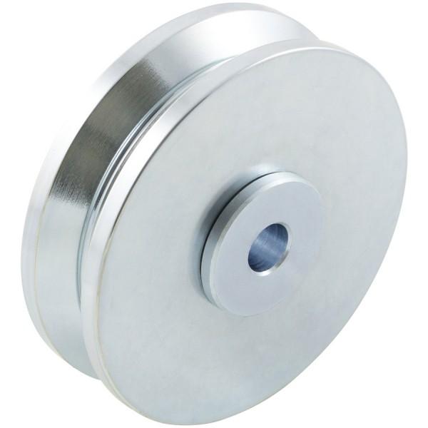 """D&D SHUT IT - 4"""" HardCORE V-Groove Wheel For 1 1/2"""" Gate Frame - CI2415"""