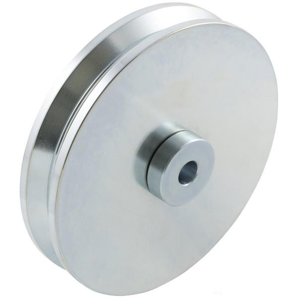 """D&D SHUT IT - 6"""" HardCORE V-Groove Wheel For 2"""" Gate Frame - CI2620"""