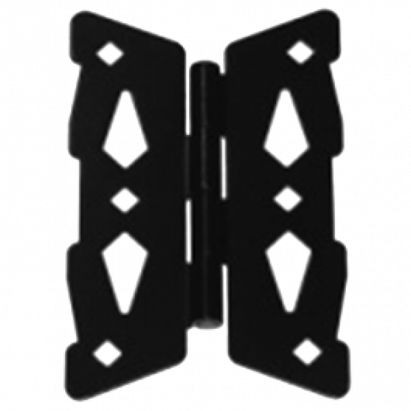 """D&D Metal 8"""" Butterfly Hinge Contemporary - 310009"""