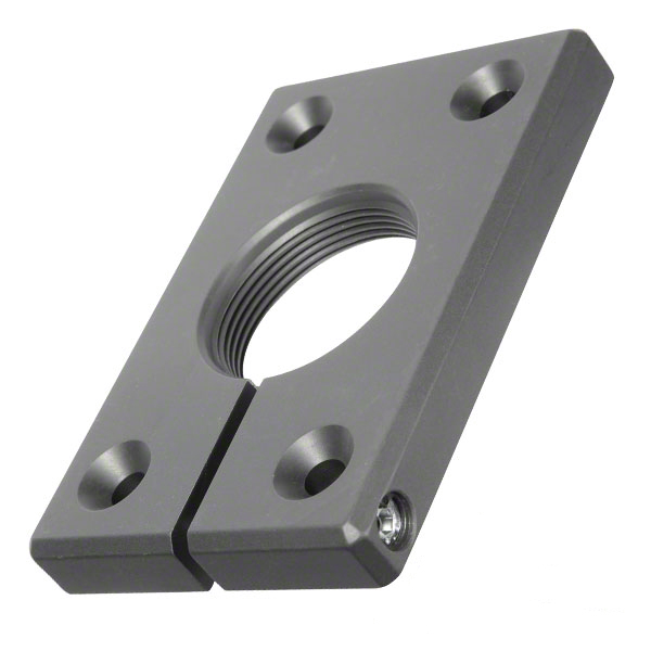 D&D Post Mounting Bracket - Aluminum Center Mount Screw On - 7514
