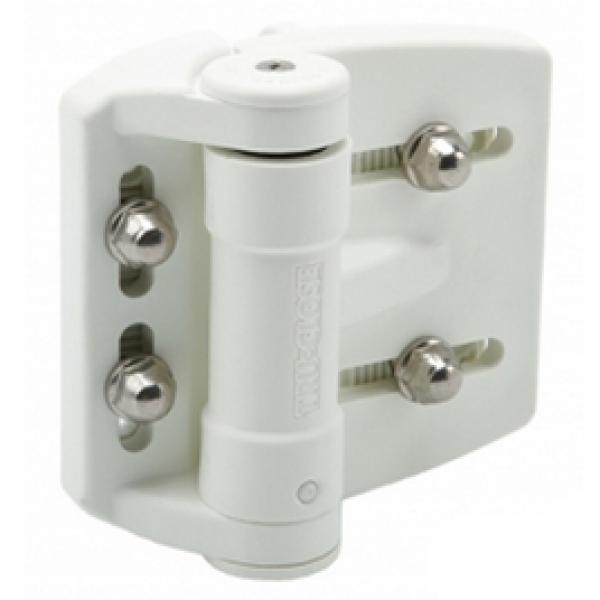 D&D TruClose Multi-Adjustable Gate Hinge - TCAMA2WT (Pair)