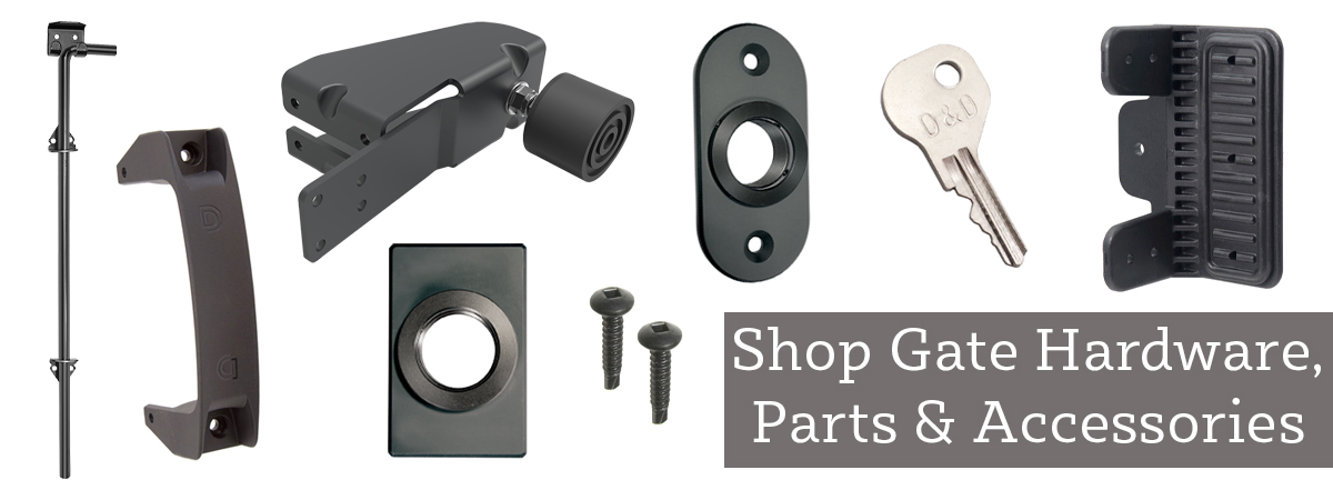 Shop Gate Hardware and Accessories