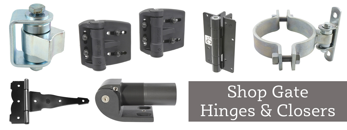 Shop Gate Hinges and Closers