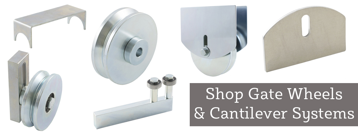 Shop Gate Wheels and Cantilever Systems